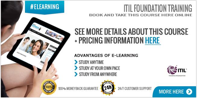 ITIL 2011 Foundation Online Course