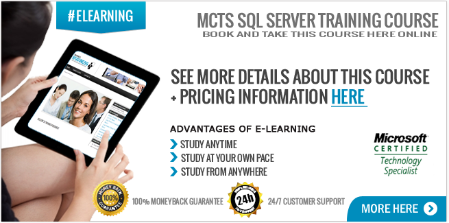 MCTS SQL Server 2008 Online Course