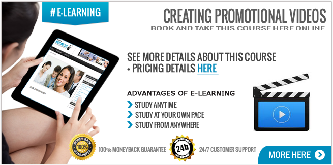 Creating Promotional Videos course