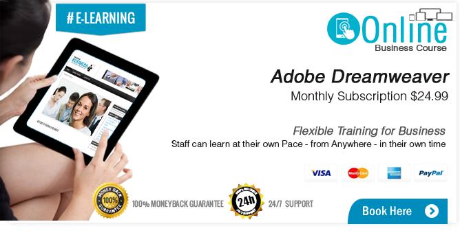 Adobe Dreamweaver Training Course