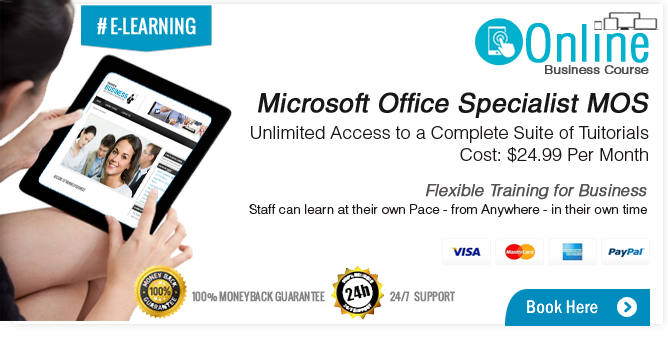 Microsoft Office Specialist Training Course