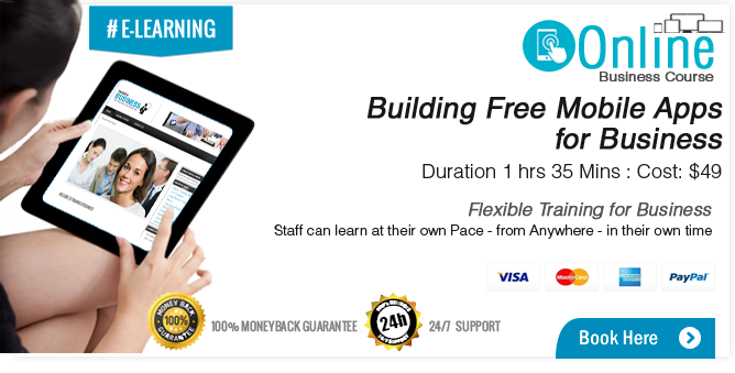 Building Free Mobile Apps for Business Course