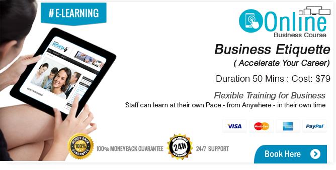 Business Etiquette Career Course