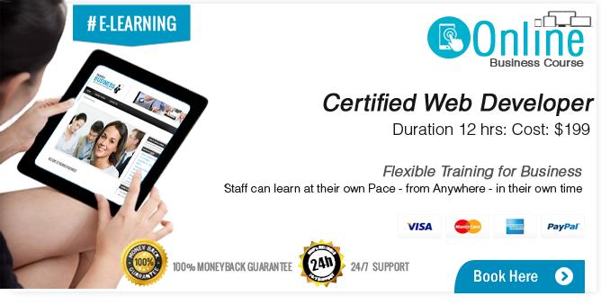 Certified Web Developer Course