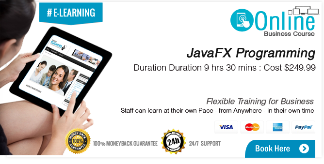 JavaFX Programming, Part I LiveLessons